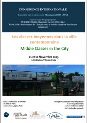 Les classes moyennes dans la ville contemporaine / Middle Classes in the City