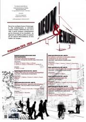 Séminaire « Lieux et Enjeux » 2013-2014
