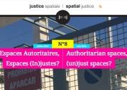 Revue Justice Spatiale / Spatial Justice : Parution du numéro 8 – Juillet 2015