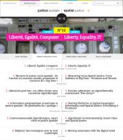 Revue électronique Justice Spatiale / Spatial Justice : Parution du n°10