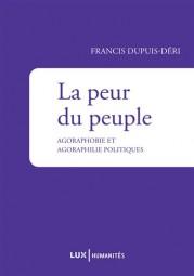 Conférence du Professeur Francis Dupuis-Déri « Qui a peur du peuple »