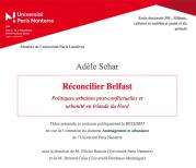 Soutenance de thèse : Adèle Schar