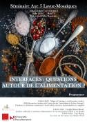 Séminaire « Interfaces : questions autour de l'alimentation? »