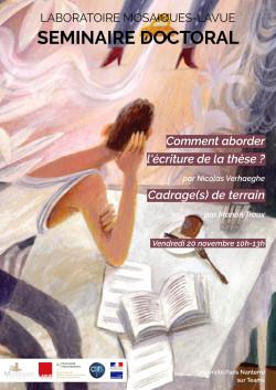 Affiche Séminaire Doctorants 20 Novembre