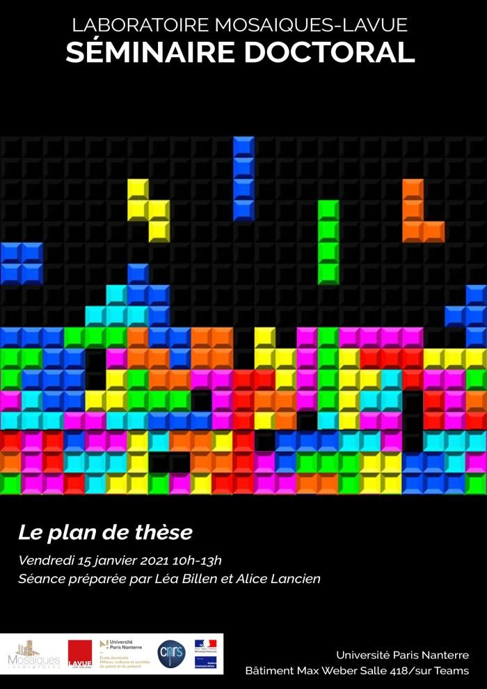 210108_SeminaireMosaiques_PlanDeThese