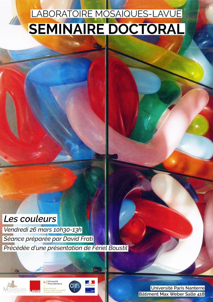 affiche seance les couleurs RC3